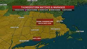 Severe Thunderstorm Watch, Warnings for ...