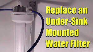 replace a whirlpool model no whkf dwh under sink mounted water filter you