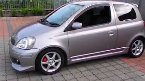 2003 Toyota Yaris Vitz Rs TRD Turbo Flatoutimports.com - YouTube