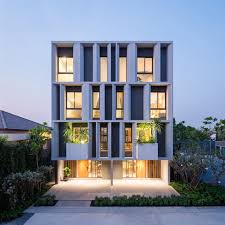 A Modern Townhouse with a Private Garden in Bangkok ...