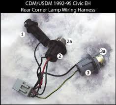 honda civic tail light wiring diagram image diy honda civic 92 95 oem rear fog lamp retrofit install guide on 92 honda civic