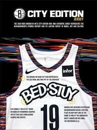 Using the city flag of new orleans as a jersey design is a good idea, but i'm roam the north @raptors city edition jerseys are launching in march 2021. Brooklyn Nets Unveil 2019 20 City Edition Uniform By Nike Live From Bed Stuy Nba Com