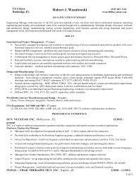 Manufacturing Design Engineer Sample Resume Gorgeous Manufacturing Engineering Manager Resume Kenicandlecomfortzone