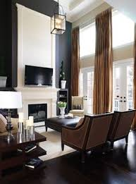 In the family room, i was determined to find something dimensional. 29 Decorating High Walls Ideas House Design Home House Interior