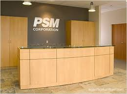 office reception counters. reception desks office furniture commercial grade quality wood veneer modular desk counters