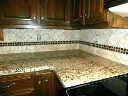 Granite With Backsplash Extraordinary Santa Cecilia Granite Backsplash Russellscott
