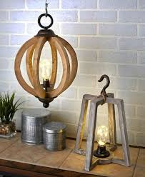Rustic Lantern Light Details About Hanging Wood Pendant Lantern Lamp Coastal Industrial Country Wireless Light