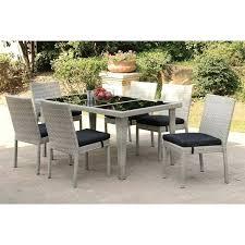 7 pc patio dining set patio dining set 7 piece patio dining set round table