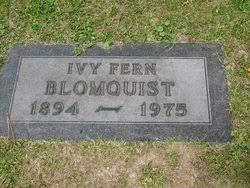 Ivy Fern Mack Blomquist (1894-1975) - Find A Grave Memorial