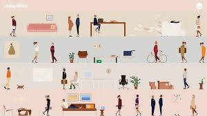 herman miller's living office desktop wallpapers  apartment therapy