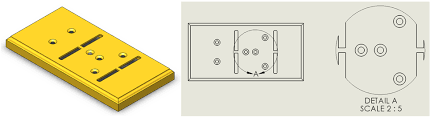 When i draw a circle, i could use the shapes box for solid circle, but how do i use a dotted line to form a circle? Modifying The Border Of A Detail View In Solidworks