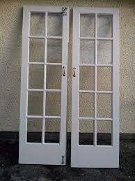 french doors windows with safety glazing