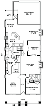 plans house plan awesome best narrow lot plans ideas pics for beach and style with