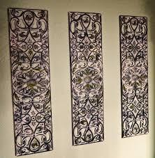 wrought iron wall decor ideas shining rod art room decorating black 600x613 masterly