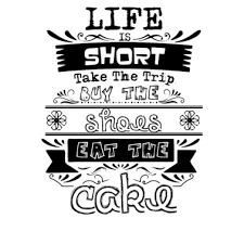 Life Is Short Take The Trip Buy Shoes Eat The Cake Mens Premium T