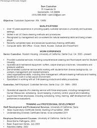 Best Resume Formats Inspiration Sample Resume For Custodial Worker Best Of Sample R Best Sample