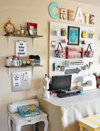 craft room office. Office And Craft Room Ideas. Makeover Whites Brights 1 Ideas
