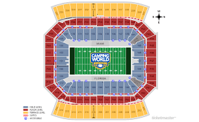 Citrus Bowl Seating Chart Camping World Stadium Events And Concerts In Orlando Citrus