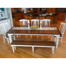 French Farmhouse Dining Table French Farmhouse Leg Extension Table Amish Dining Tables Amish