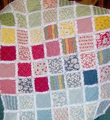 How to Make Rag Quilts: 32+ Tutorials with Instructions for the ... & Easy Rag Quilt Pattern for Beginners Adamdwight.com