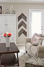 barnwood chevron accent wall decor