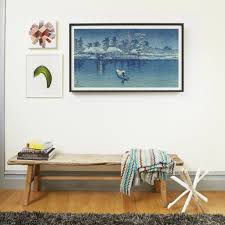 with how often millennials move and how long we re waiting to buy homes wall art has become one of those things most of us are holding off on investing in  on moving digital wall art with depict digital frame for art popsugar home
