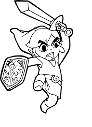 Coloriage Zelda Dessin Imprimer Sur Coloriages Info Coloriage