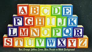 wood alphabet blocks full set a z of wooden for crafts wood alphabet blocks
