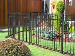 black aluminum fence unique 4 ft black aluminum fence outdoor waco install settings for