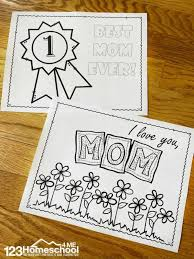 In addition, the kid is carried away and does not bother his mother while she does her business. Free Mothers Day Coloring Sheets