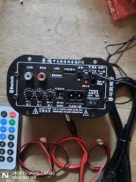 Mạch Loa Kéo Tích Hợp 12V -220V - Có Bluetooth- Shock Mua 1 Tặng 5 Gồm 1  Điều Khiển 2 Dây Loa 1 Dây DC 1 Dây Nguồn | Bộ Chuyển Đổi Không Dây