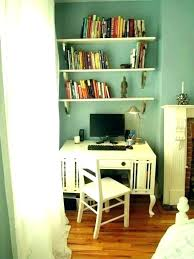 Floating shelf desk Kitchen Floating Shelf Desk With Shelves Above For Desks Book Wall White Stained Used As Ideas Avaloniainfo Floating Shelf Desk Examples House Newest Beautiful