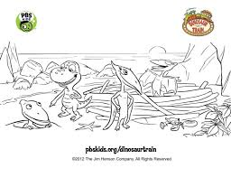 Just click to print out your copy of this train coloring page. Dinosaur Friends Coloring Page Kids Coloring Pbs Kids For Parents