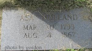 Asa Holland (1793-1867) - Find A Grave Memorial