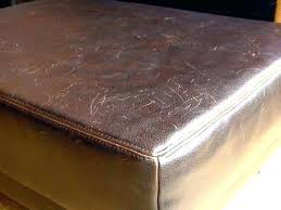 repair scratched leather furniture how to fix cat scratches light sofa on couch scratche