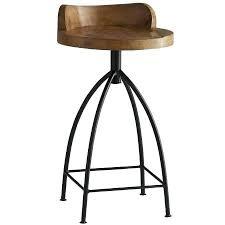 arteriors 6535 sandblast antique wax henson 285 rustic wood bar rustic wood bar stools rustic wooden