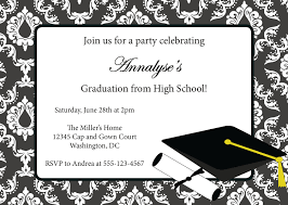 graduation party invitation templates for word invitations ideas graduation party invitations templates ctsfashion com