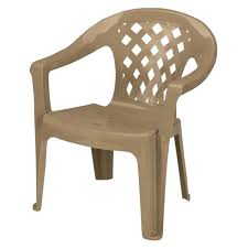 generic unbranded big and tall mushroom patio lounge chair