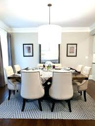 dining table rug size seat square dining table tables rug sizes room size round round dining