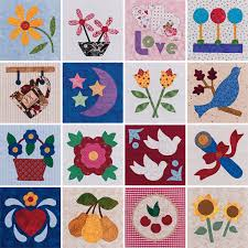 """Block"""" out your calendar: Worldwide Quilting Day March 15 - Stitch ... & Quilt blocks from Easy Applique Blocks Adamdwight.com"""