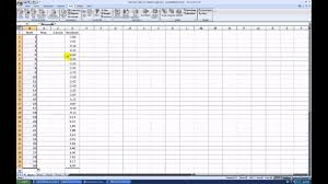 Creating A Normal Probability Plot With Excel 2007