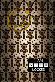 i am sher locked phone wallpaper by grayw00f