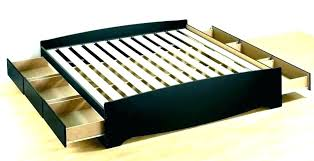 diy king platform bed with storage. King Platform Bed Plans Size With Storage  Diy