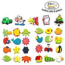 free shipping 24 pcs Cute Animals Fridge Magnets For Kids Toddler,Magnetic Board With Letters Toddler