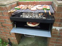 how to mount a brick bbq grill insert