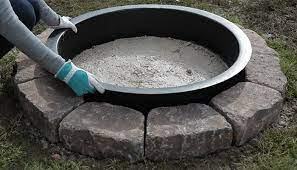 How To Make A Sand Fire Pit 2019 Landscaping Tips