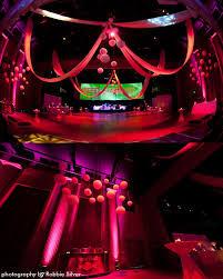 Drape Decor Lighting Lounge Design Red Bull New