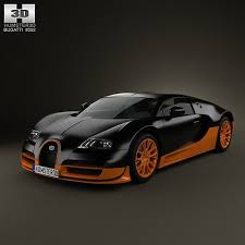 With just 150 bugatti veyron grand sports made for the world, this is an incredibly rare collector piece. 3d Model Bugatti Veyron Grand Sport World Record Edition