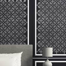Tile Decor And More Wall Pattern Stencil Blanche Allover Stencil for Wall DIY decor 39