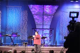 church lighting design ideas. Light Showers Church Stage Design Ideas They Duplicated The Paper Panel Look With Christmas Curtains Hanging Lighting A